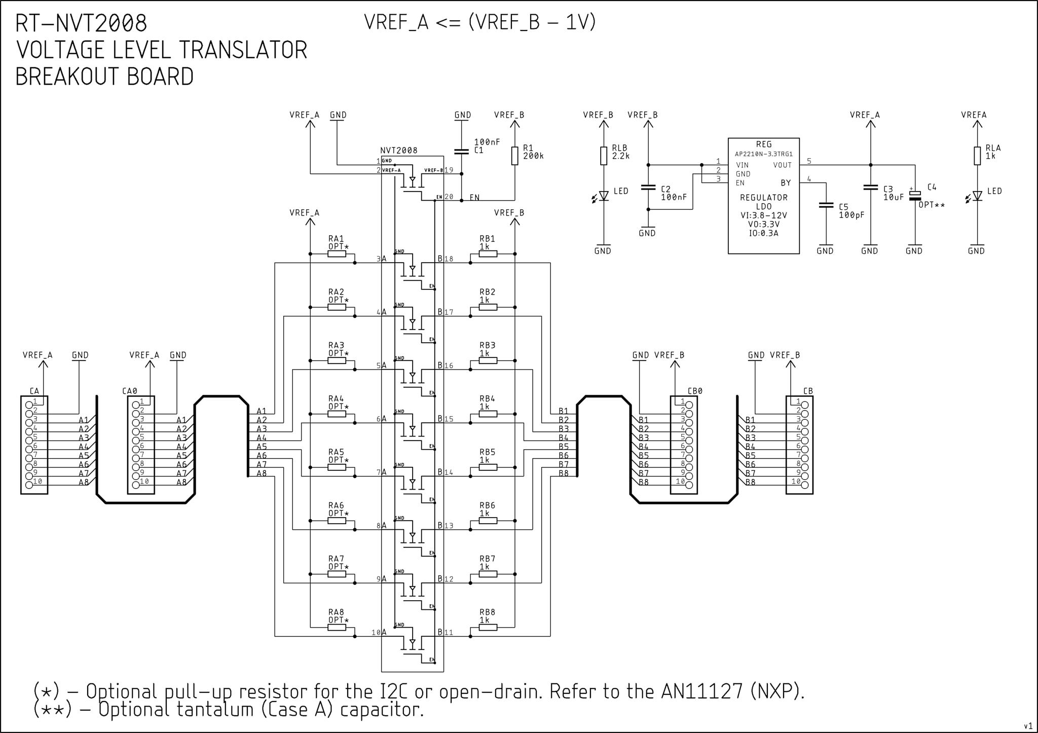 RT-BME680 Schemat Elektryczny