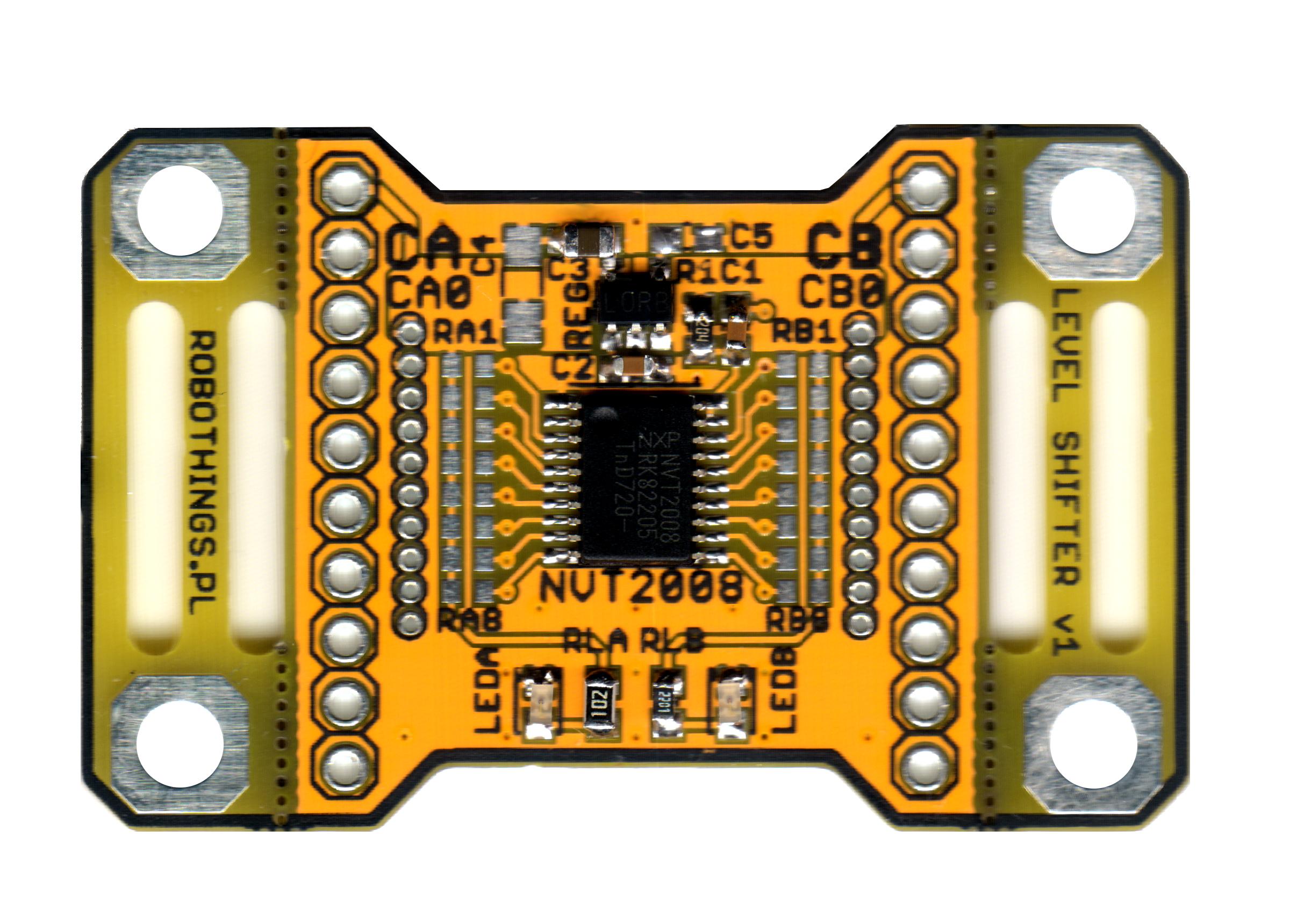 RT-NVT2008 Dwukierunkowy translator poziomów logicznych obraz
