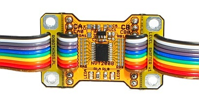 RT-NVT2008 Module 8 Channels Bidirectional Voltage Level Translator with Ribbon Cable Image