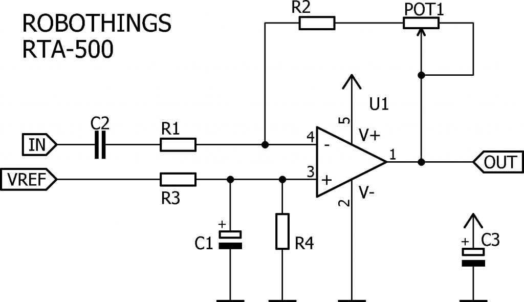 RTA-500 Amplifier Circuit Diagram