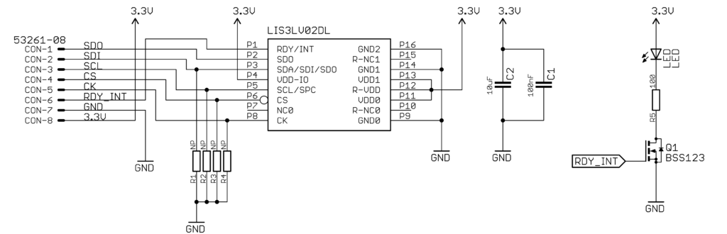 LIS3LV02DL schematic not loaded. Yet!